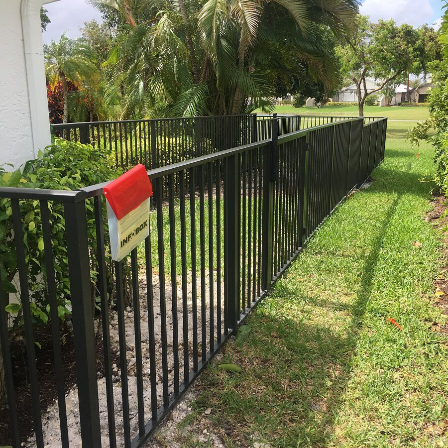 aluminum fences wellington fl